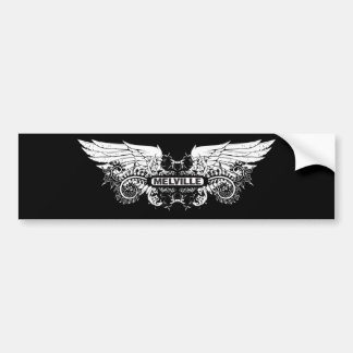 Melville ~ Herman American Novelist Writer Poet Bumper Sticker