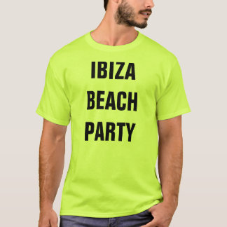 Melvis' Ibiza Beach Party T Shirt