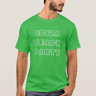 Melvis' Ibiza Beach Party T Shirt (variation)