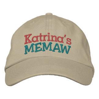 Memaw ... ; ) embroidered baseball caps