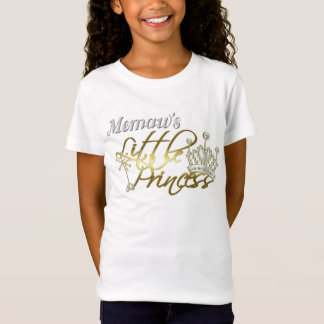 Memaw Little Princess Baby Doll Shirt