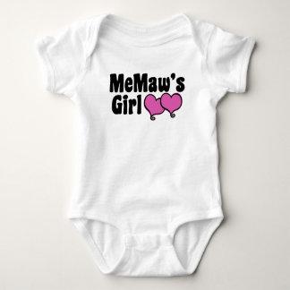 MeMaw's Girl Baby Bodysuit