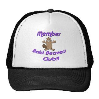 Member Bald Beavers Club Cap