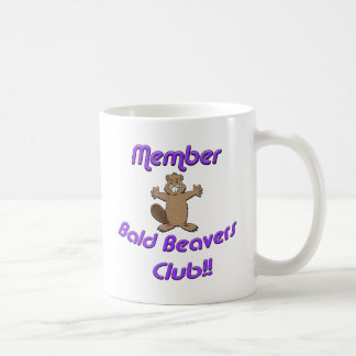Member Bald Beavers Club Coffee Mug