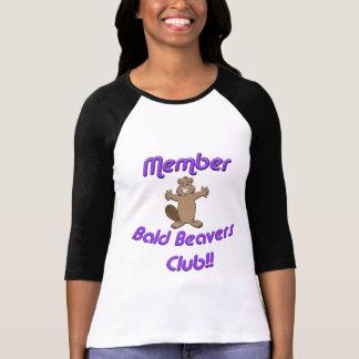 Member Bald Beavers Club T-Shirt