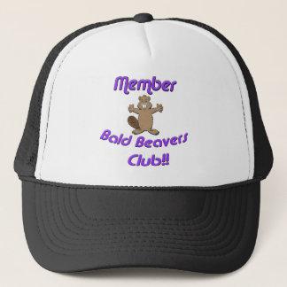 Member Bald Beavers Club Trucker Hat