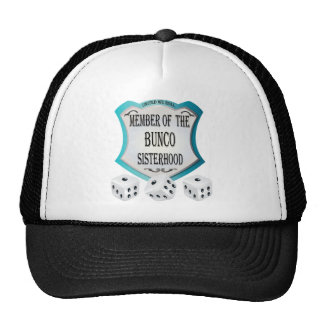 member of the bunco sisterhood cap