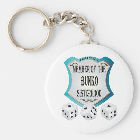 Member of the Bunko Sisterhood Key Ring