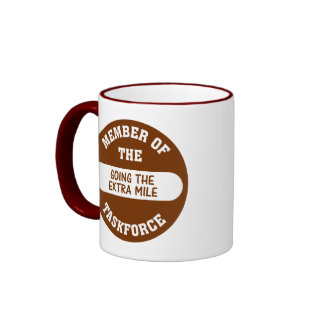 Member of the Going the Extra Mile Task Force Mug