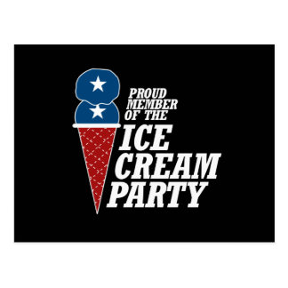 Member of the Ice Cream Party -.png Postcards