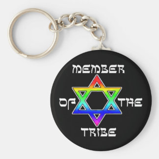 Member of the Tribe Keychain