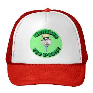 Member Tee Party caps cups mugs water bottles Trucker Hat