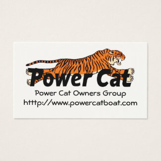 Members Card Power Cat Owners Group