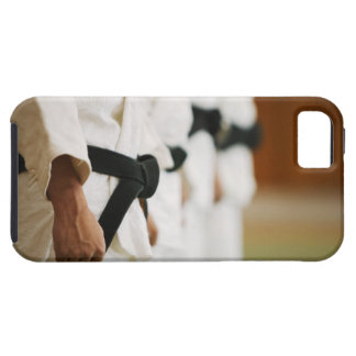 Members of a Judo Dojo Lined Up Tough iPhone 5 Case