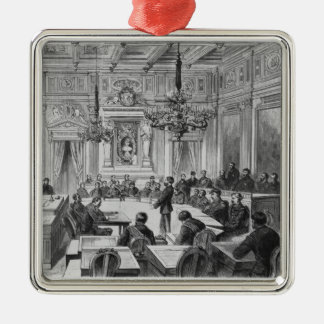 Members of the Commune in session Christmas Ornament