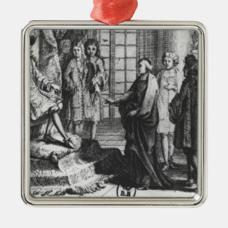 Members of the French Academy Christmas Ornament