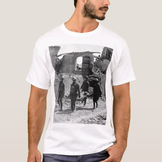 Members of the Medical Corps removing _War image T-Shirt
