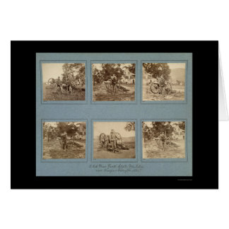 Members of the New York State Militia 1861 Greeting Card