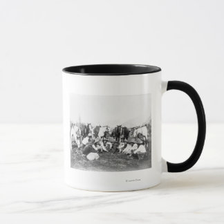 Members of the Pawnee Bill's Wild West Show Mug