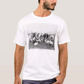 Members of the Pawnee Bill's Wild West Show T-Shirt