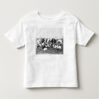 Members of the Pawnee Bill's Wild West Show Toddler T-Shirt