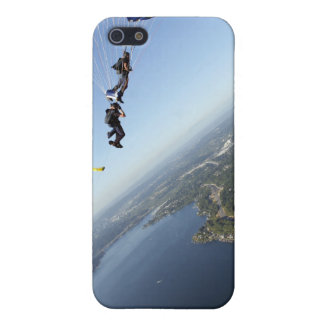 Members of the US Navy Parachute Team Cover For iPhone 5/5S