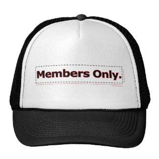 Members Only Cap