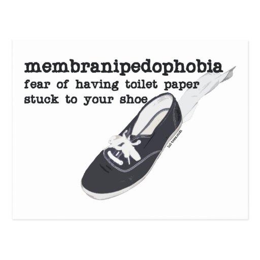 Membranipedophobia Postcards