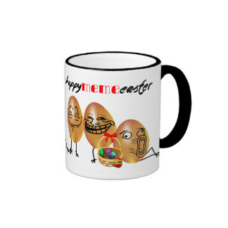 Meme eggs Happy Easter Mugs