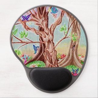 Memento Amare Tree Lady Gel Mouse Pad
