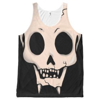 Memento Mori Demon Skull All-Over Print Tank Top
