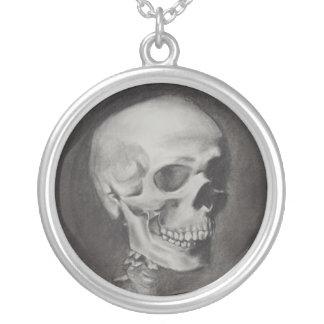 Memento Mori Human Skull pendant