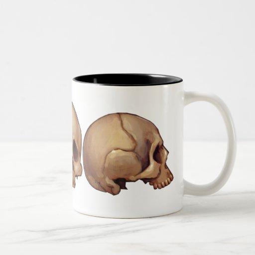 Memento Mori Skull Mug
