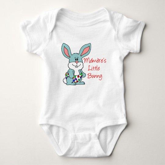 Memere's Little Bunny Baby Bodysuit