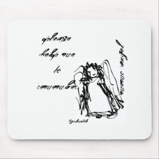 """Memo Angel"" Mouse Pad"
