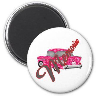 Memorabilia Retro  automobile 6 Cm Round Magnet