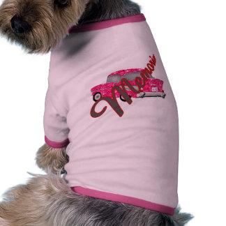 Memorabilia Retro  automobile Ringer Dog Shirt