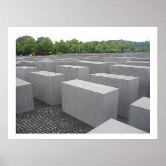 memorial berlin poster