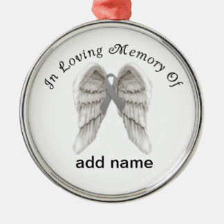 Memorial Christmas Ornament Brain Cancer