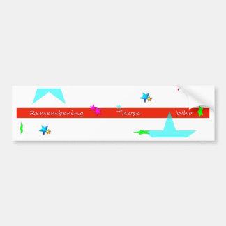 memorial Day Bumper Sticker