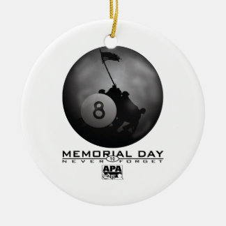 Memorial Day Christmas Ornament