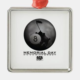 Memorial Day Christmas Ornament