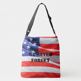 Memorial Day Fallen Soldiers Remembrance Military Crossbody Bag