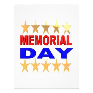 Memorial Day 21.5 Cm X 28 Cm Flyer