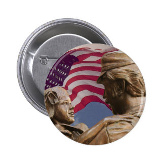 Memorial Day Homecoming 6 Cm Round Badge