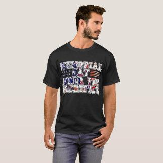 Memorial Day Honor the Sacrifice American Flag T-Shirt