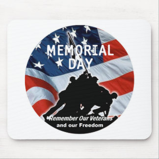 Memorial Day Mouse Pads