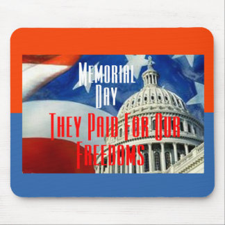 Memorial Day Mousepad