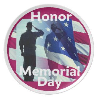 Memorial Day Plate