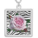MEMORIAL DAY ROSE-NECKLACE
